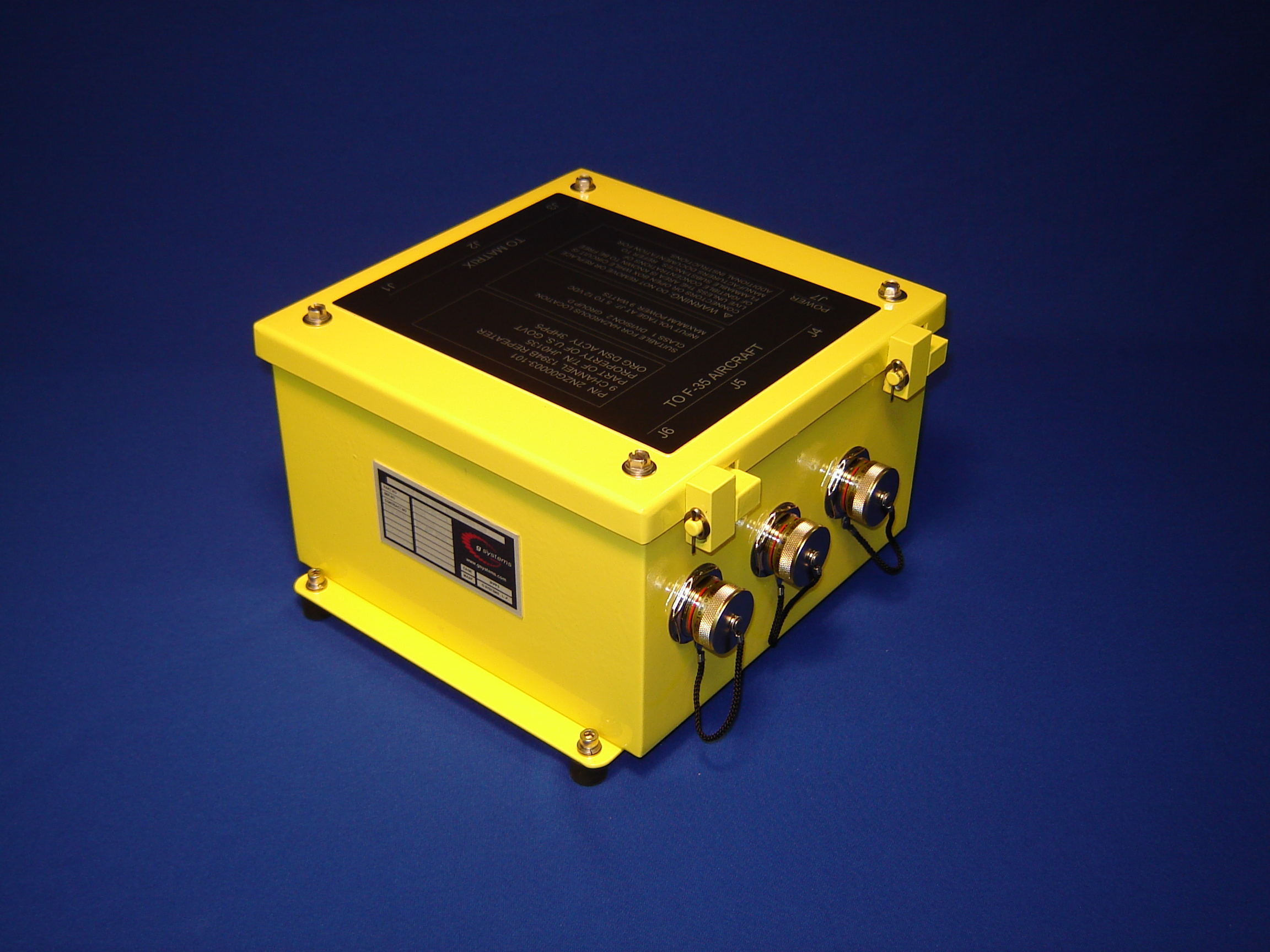 Rugged and Portable Field Test System