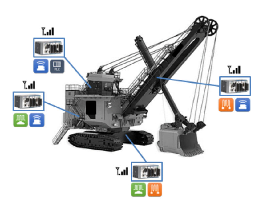 Structural Monitoring System: Large Electric Rope Shovel