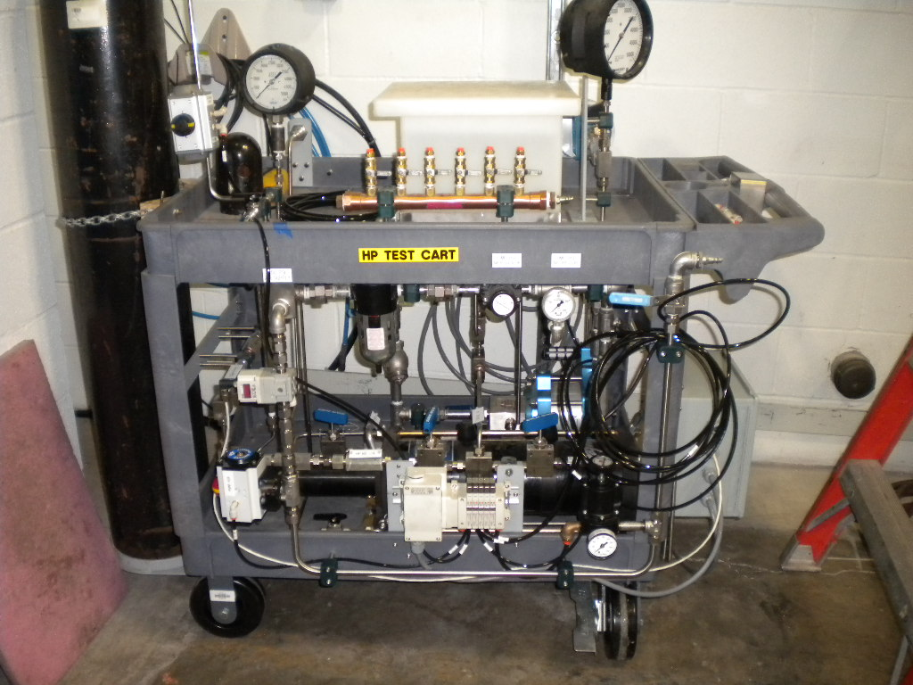 High Pressure Test Cart