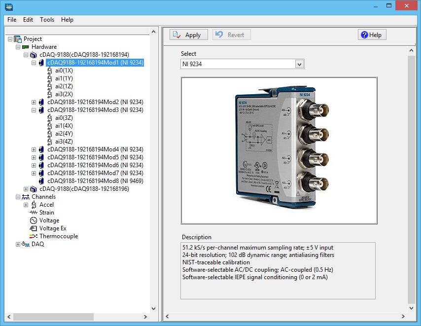 iTS Configure Screen