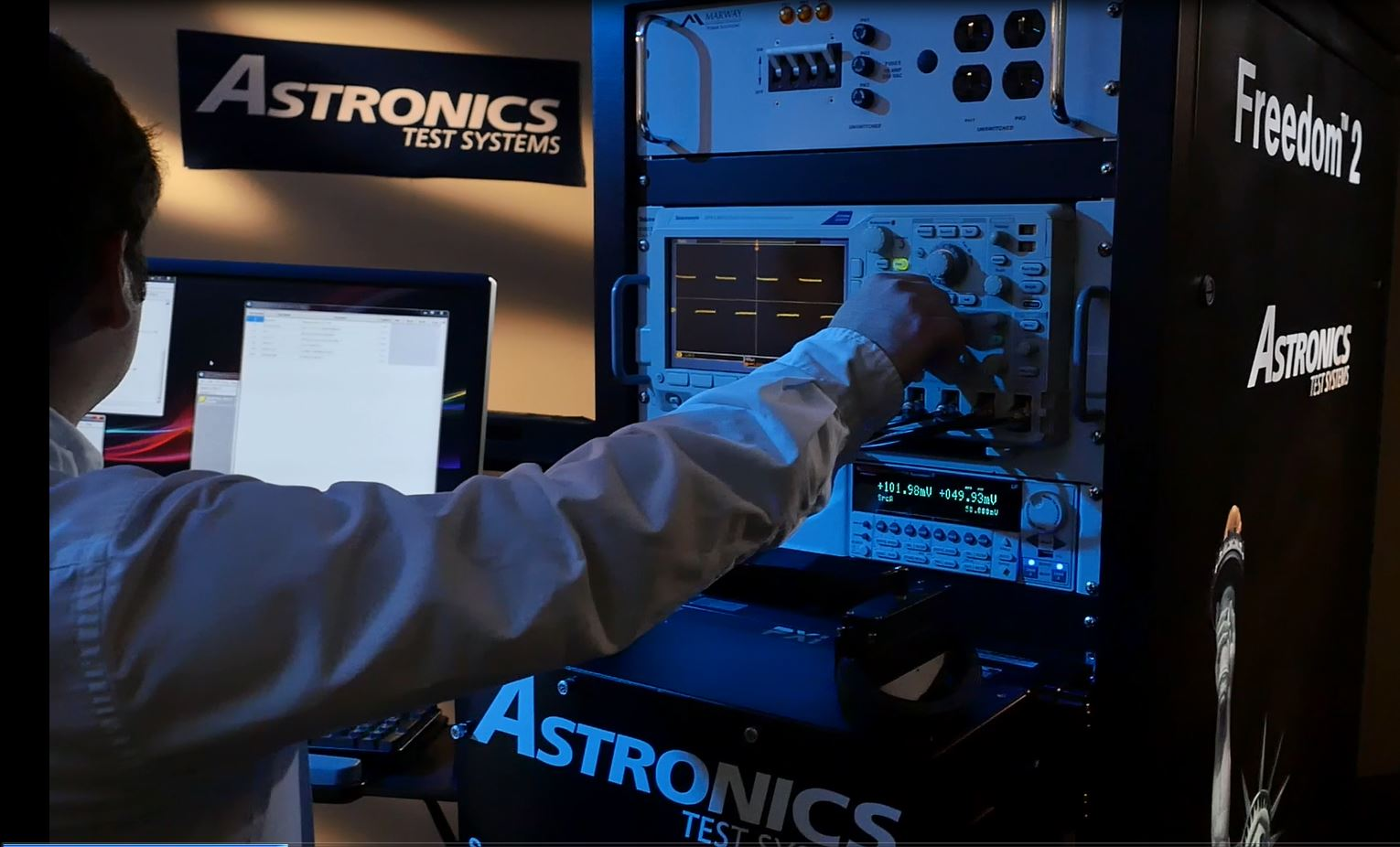 Freedom 2 Universal Functional Tester from Astronics Test Systems
