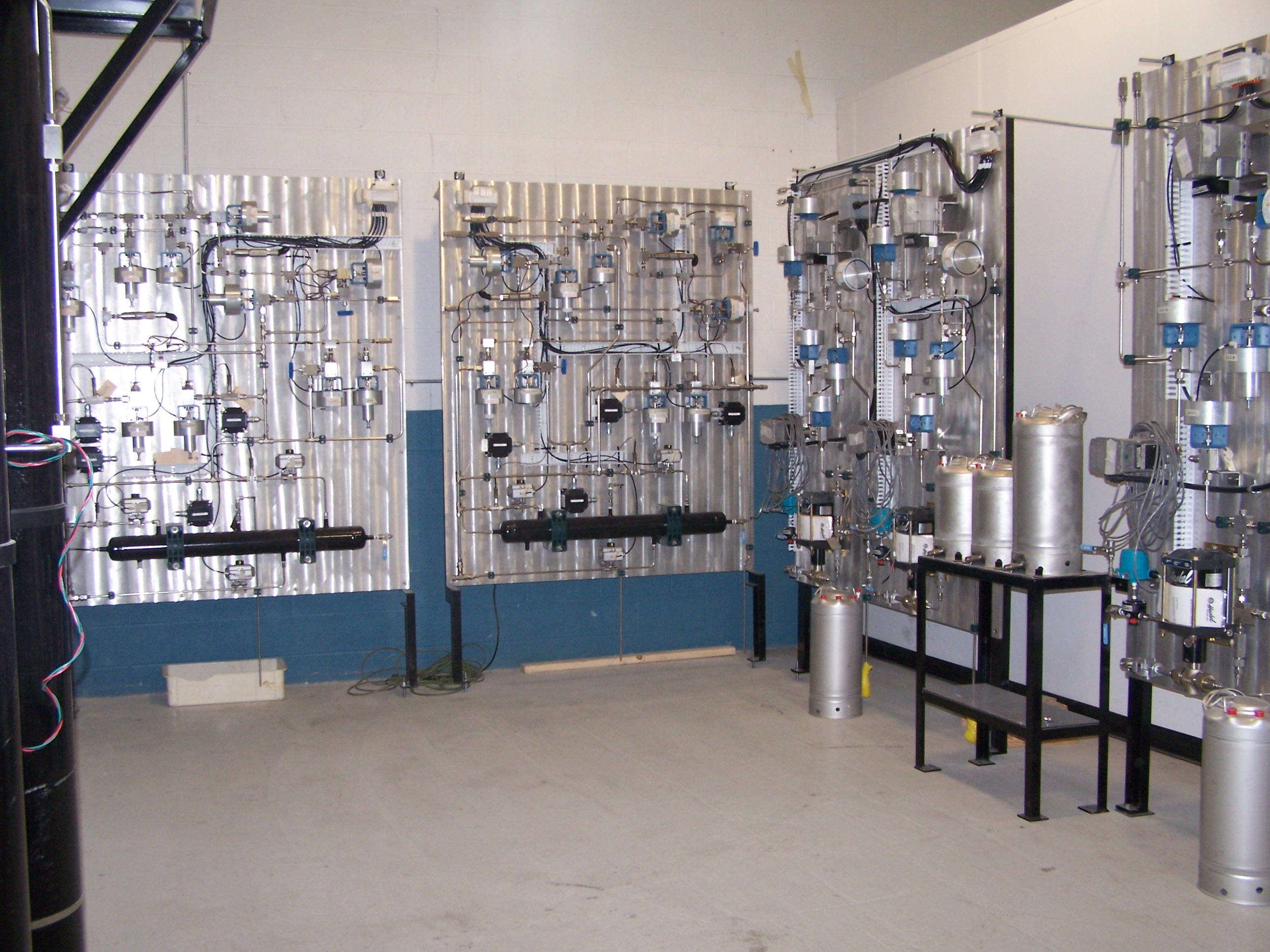 Wall Mounted High Pressure Test
