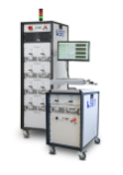Automated semiconductor reliability test system IOL & Power cycling Logo