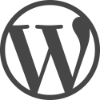 WordPress + WooCommerce Logo