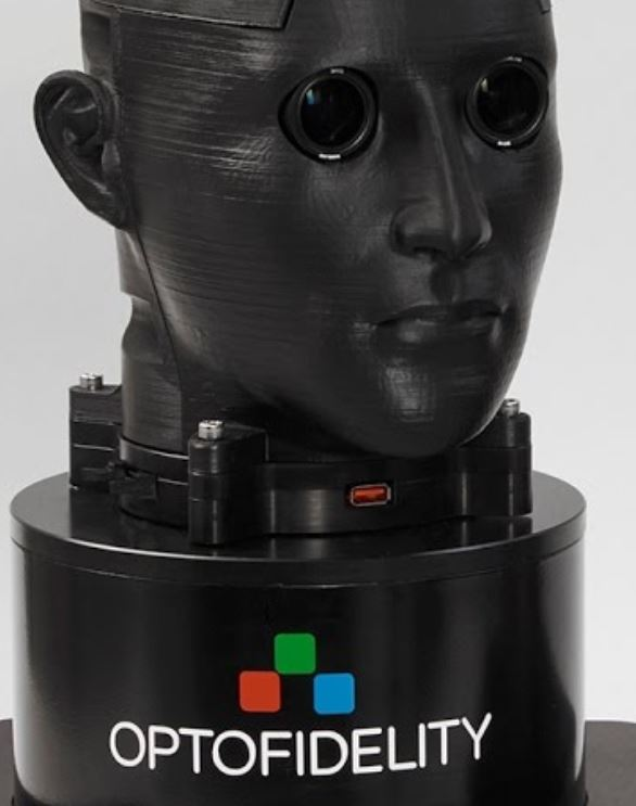 There are measurement sensors in the moving head