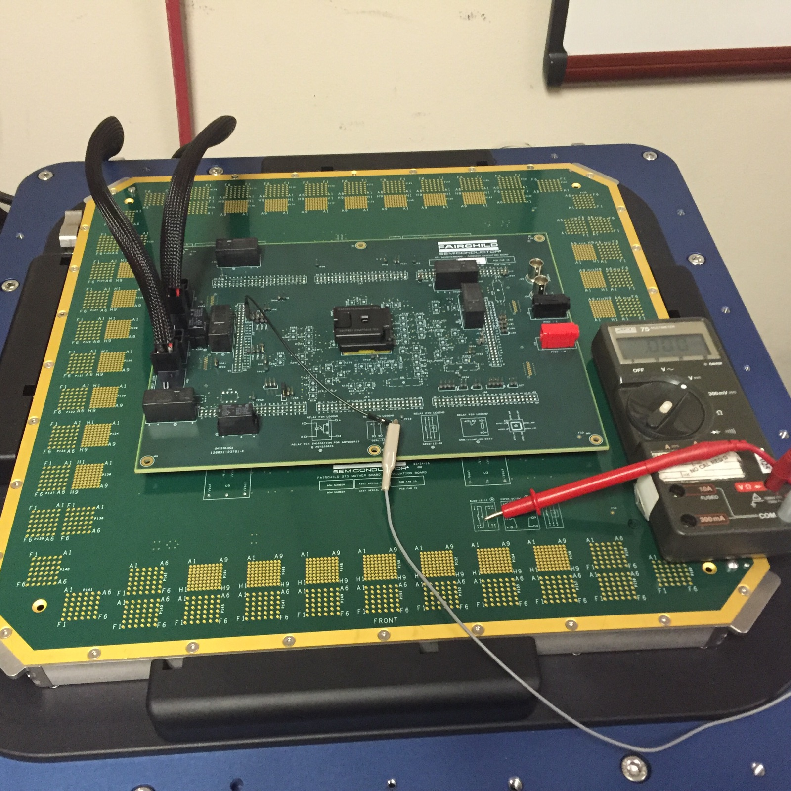 STS device Under Test generic board