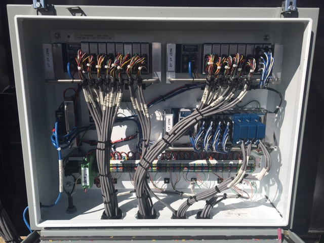 High Channel Count cDAQ Panel Assembly